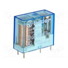 Миниат. универс электромех. реле; монтаж на печатную плату или в розетку; выводы с