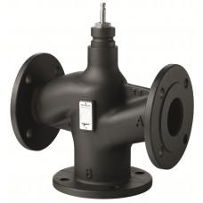 VXF43.80-100 Регулирующий клапан, фланцевый 3-х ходовой клапан DN80, kvs 100