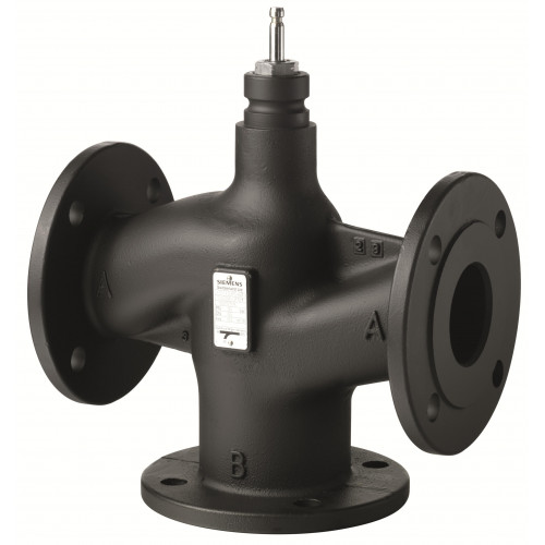 VXF43.80-100 Регулирующий клапан, фланцевый 3-х ходовой клапан DN80, kvs 100 VXF43.80-100
