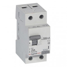 Выключатель дифференциально тока RX3 ВДТ 300мА 25А 2П AC