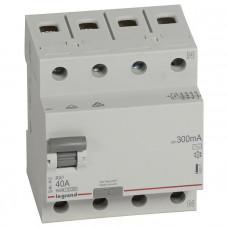 Выключатель дифференциально тока RX3 ВДТ 300мА 40А 4П AC