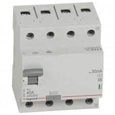 Выключатель дифференциально тока RX3 ВДТ 30мА 40А 4П AC