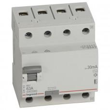 Выключатель дифференциально тока RX3 ВДТ 30мА 63А 4П AC