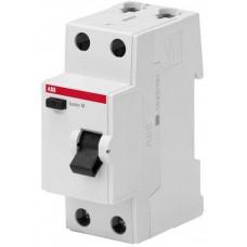 Выключатель дифференциального тока 2P, 63A, 100мA, AC, BMF42263