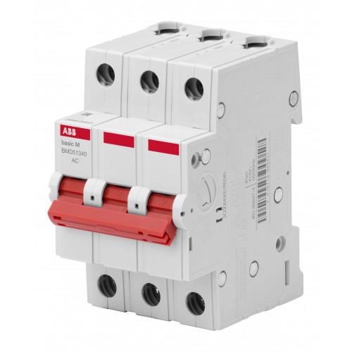Выключатель нагрузки 3P, 50A, BMD51350 2CDD643051R0050